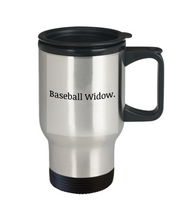 Baseball widow travel mug-GranvilleDesigns