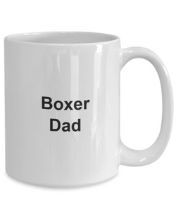 Boxer dad mug coffee dog-GranvilleDesigns