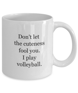 Coffee mugs volleyball-GranvilleDesigns