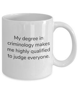 Criminology mug-GranvilleDesigns
