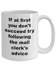 Clerk gifts mail clerk coffee mug-GranvilleDesigns