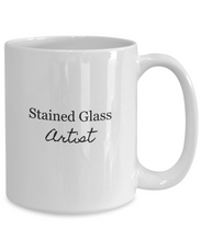 Stained glass artist mug-GranvilleDesigns