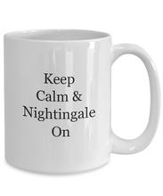 Coffee Mugs for Nurses: Nightingale On-GranvilleDesigns
