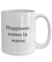 Beach lovers gifts happiness waves-GranvilleDesigns