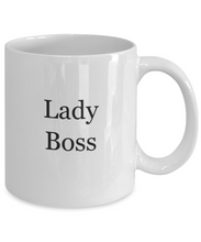 Lady boss coffee mug-GranvilleDesigns