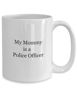 Police Officer Mom Gifts: Mug-GranvilleDesigns