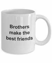 Brothers make the best friends mug cup gifts brother gift-GranvilleDesigns