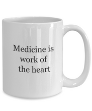 Gift for physician: medicine work heart-GranvilleDesigns