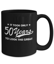 50th birthday funny mug-GranvilleDesigns