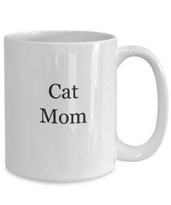 Cat mom mugs coffee-GranvilleDesigns