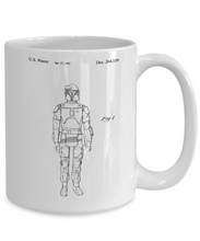 Coffee mug star wars boba fett-GranvilleDesigns