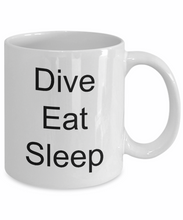 Commercial diver coffee mug scuba divers gifts deep sea-GranvilleDesigns