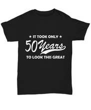 50th birthday shirt-GranvilleDesigns