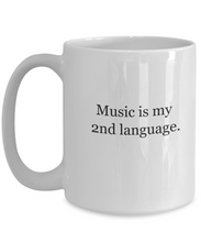 Coffee mugs for musicians: 2nd language-GranvilleDesigns