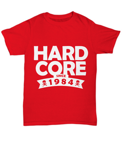 1984 t shirt: hard core-GranvilleDesigns