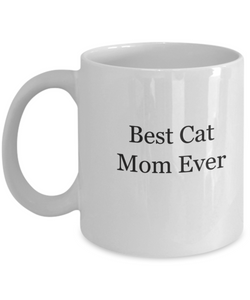 Best cat mom ever mug-GranvilleDesigns