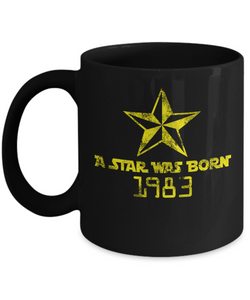 1983 mug- 1983 birthday mug-GranvilleDesigns