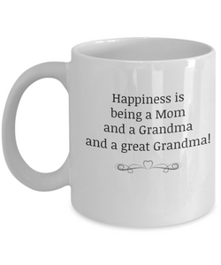 Mom Grandma GreatGrandma mug-GranvilleDesigns