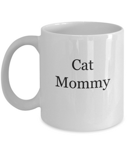 Cat mommy mug-GranvilleDesigns
