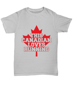 Canadian runner shirt-GranvilleDesigns