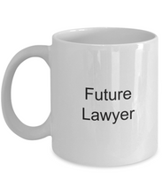 Law student mug: future lawyer-GranvilleDesigns