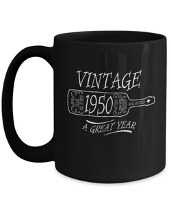 1950 Birthday Mug-GranvilleDesigns