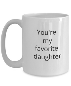 Favorite daughter coffee mug-GranvilleDesigns
