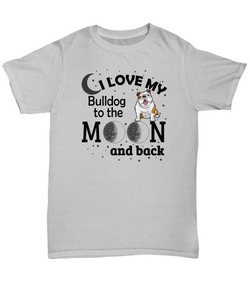 Bulldog lover shirt-GranvilleDesigns