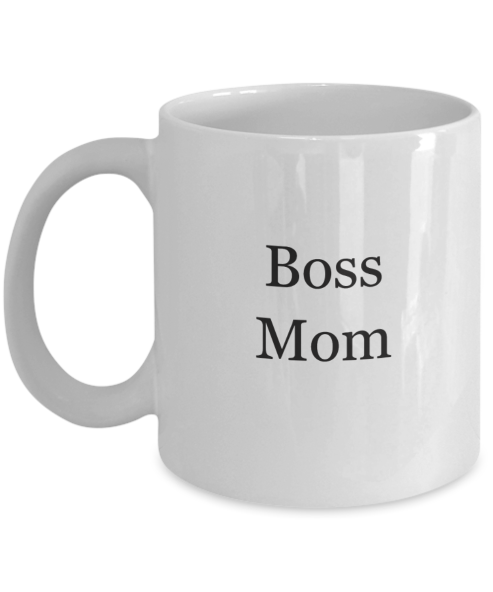 Boss mom coffee mug-GranvilleDesigns