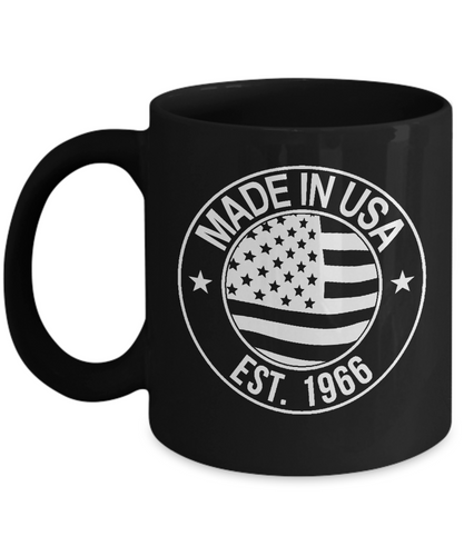 1966 birthday gift mug-GranvilleDesigns