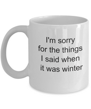 Sorry for what I said when it was winter-GranvilleDesigns