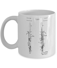 Bassoon Gifts Coffee Mug Patent-GranvilleDesigns