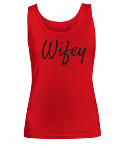 Wifey tank top and tshirts for women-GranvilleDesigns