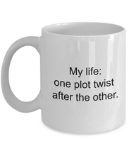 Author Mug Life Plot Twist Booklover-GranvilleDesigns