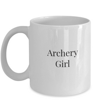 Archery girls mug-GranvilleDesigns