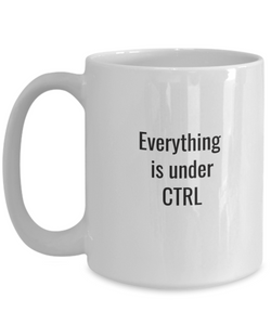 Ctrl data project manager mug-GranvilleDesigns