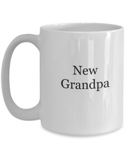 New Grandpa coffee mug-GranvilleDesigns