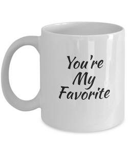 You're My Favorite Mug-GranvilleDesigns