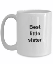 Best little sister gifts mug-GranvilleDesigns