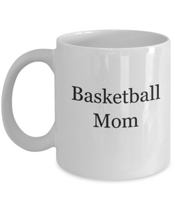 Basketball mom coffee mug-GranvilleDesigns