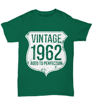 1962 t shirt: vintage aged to perfection-GranvilleDesigns