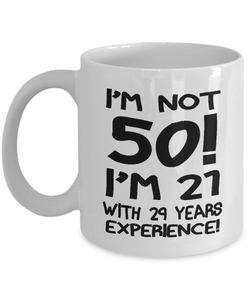 50th birthday gifts mugs-GranvilleDesigns