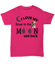 Boxer lover shirts-GranvilleDesigns