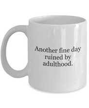 Adulthood sucks mug-GranvilleDesigns