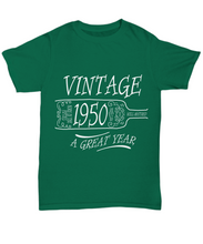 1950 t shirt: vintage year-GranvilleDesigns