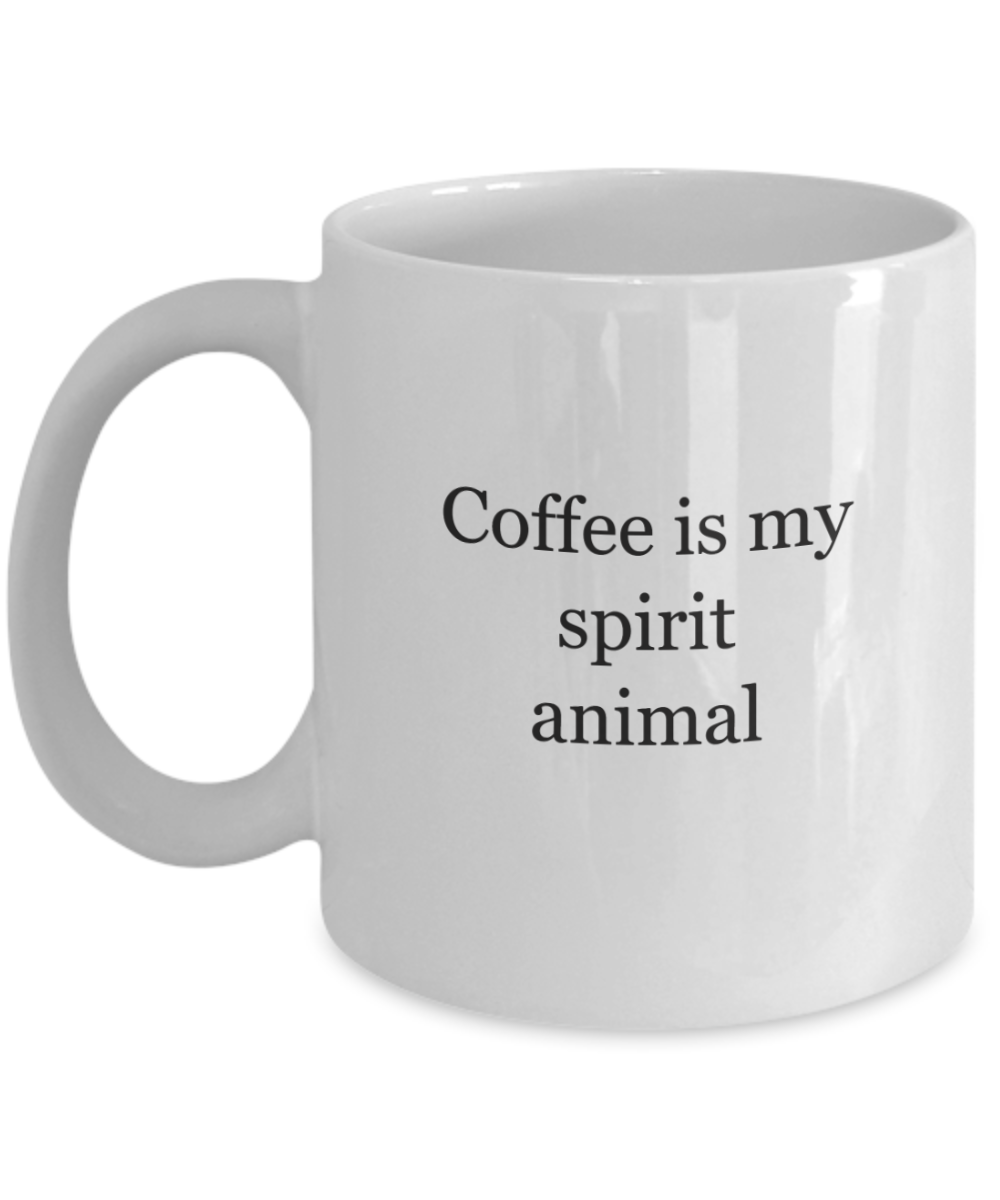 Coffee Spirit Animal Mug Funny Ceramic-GranvilleDesigns