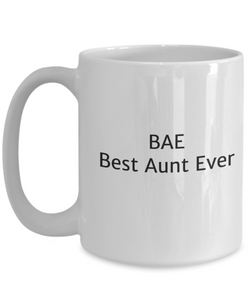 BAE Best Aunt Ever Mug-GranvilleDesigns