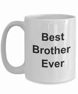 Best brother ever mug gifts cup-GranvilleDesigns