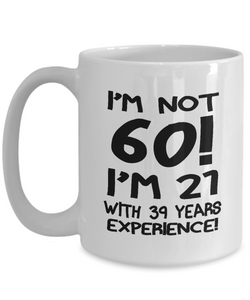 60th birthday gift mug-GranvilleDesigns
