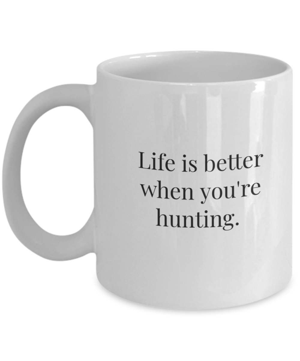 Coffee mugs hunter-GranvilleDesigns